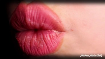 Cum with Me everyday During 1 Month! Day 7 - Lip Tease & Worship