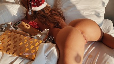 A Lustery Christmas - TEASER - Couple has intense sex on Christmas morning
