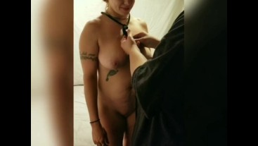 Redhead Wife Gets Rope Dress BDSM Hardcore Fucked Sucks Until Cumshot P1