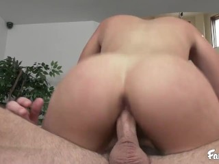 Voluptuous Brunette With Big Tits Gets Banged By Her Husband's Brother
