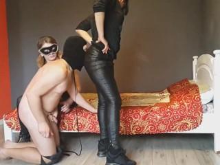 13 handjob and spanking...