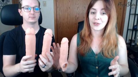 ręka i penisa kajdany wibrujący pierścień na penisie