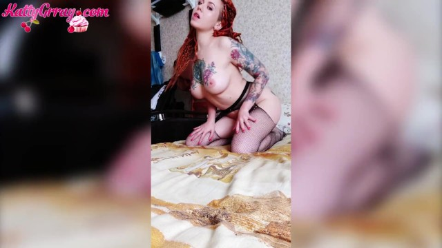 Big womens sexy lingerie - Big ass redhead girl in sexy lingerie - compilation