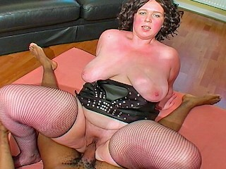 Busty british black cock lover clair...