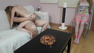 MY FRIEND IS TIGHTENED AND FUCKED WITH HIS HUSBAND UNTIL HE LEAVES ME PREGN