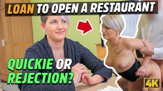 LOAN4K. Lussy Sweet needs money for her business so seduces