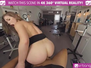VR BANGERS Seductive Hairdresser Wants You To Pay Her With Hard Fucking