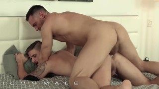 IconMale - Two Hunks have their own party with blowjobs and ass fucking