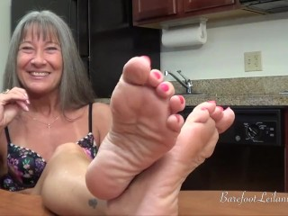 Leilani Lei Füße Anbetung