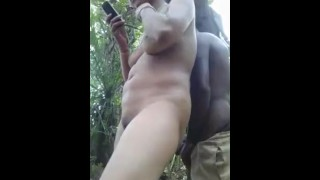 Indian girl fuck in jungle