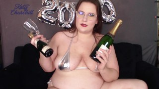 2020 Goals & Champagne Bottle Fucking - Happy New Year from Katy Churchill
