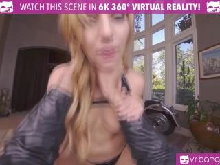 VR BANGERS Wild Curvy Latin Showing Her Cock Skills