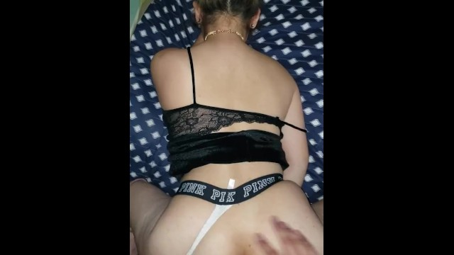 Fetish escort victoria canada - Fucked in my dress and boots while wearing victoria secret thong cumshot