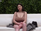 Perfect Big Tits on AMAZING Amateur, Watch Her Fuck During Her Audititon