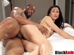 Curvy Asian Mia into hard BBC riding 1s...