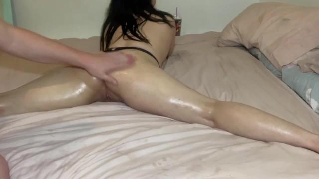 Firm Little Ass Cheeks - Oil Massage, Splits And Twerking Part 1 of 2 18