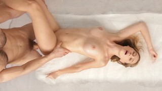 Intense Fuck After Sensual Massage - She Came Twice (Full Video)