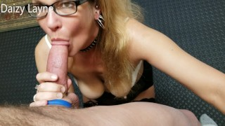 Friends Wife Deepthroats and Swallows My Young Cock! (INCREDIBLE)