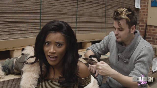 Jayne charneski lesbian The dick bush show - episode 3 with kiki minaj