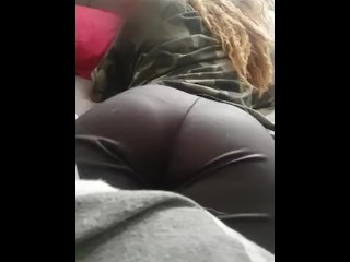 Booty and ass...