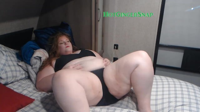 BBW Shakes Her Fat and Cums For You 15