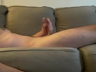 Young stud jerking off