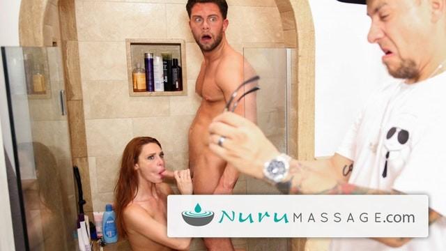 Entrainment erotic hypnosis - Nurumassage redhead lacy lennon almost caught cheating