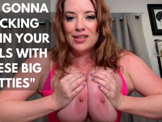 Cum between maggies gorgeous tits...