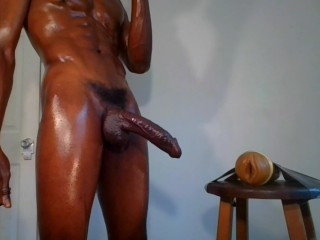 Hot Guy Jacking Off And Fucking My Fleshlight Twice Busting 2 Huge Cumloads