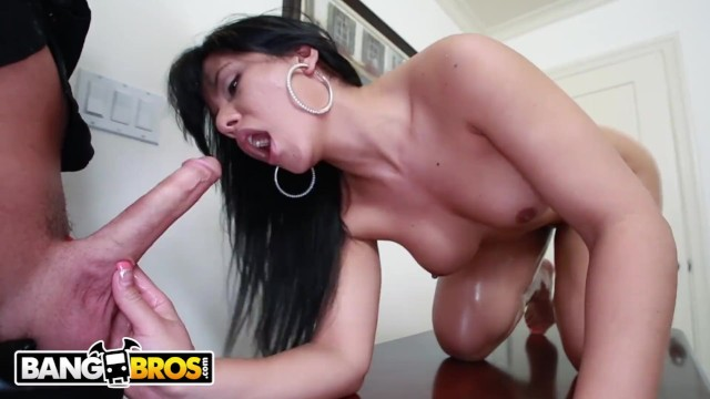 BANGBROS - Thicc Latina Rose Monroe Getting Her Big Ass Banged Hard