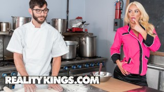 Reality Kings - Big tit phat ass Nicolette Shea fucks the cook