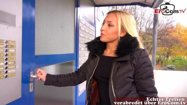 Deutsch Blondine Teen Amateur