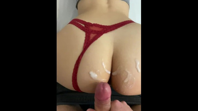 nympho PAWG hot bouncing makes her moan loudly POV