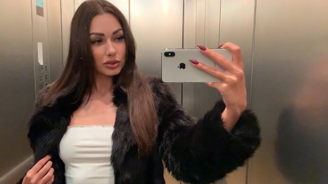 Nelly makdisi porn movie Risky blowjob in the movie theater - shaiden rogue - premium