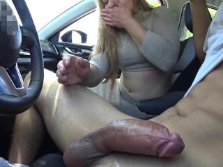 mature blond pov blowjob