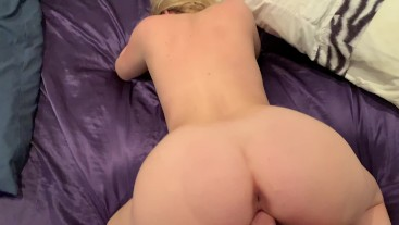 Horny amateur couple ElectraChrist fucking just for fun