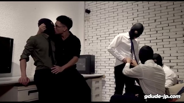 Gay suit office - Gd19039 gdude office orgy part-1