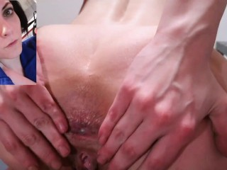 Overdosed buttfuck caused accidental prolapse for black haired...