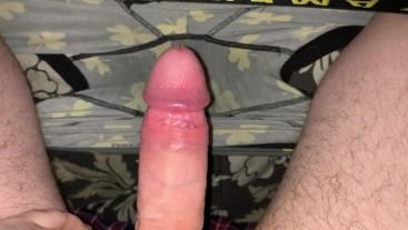 Cumming in my boxers then putting them back on before bed