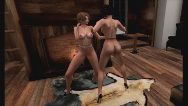 Pantyhose Catfight Fantasy