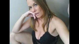 This rockin hot milf is ready for you.....