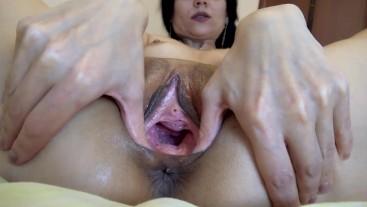 open vagina