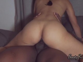 Fat ass Latina roommate creampie twerk- Full video on onlyfans/bootysothick