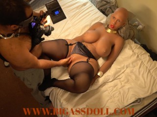 Bald head girl from tribe got fisted by...