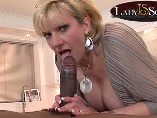 A mouthful of cock...