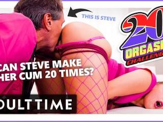 ADULT TIME Bubblegum Dungeon: Gia Derza 20 Orgasm Challenge zb porn