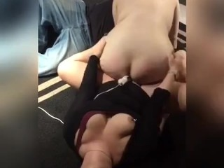 Lesbian Hitachi Wand Tribbing