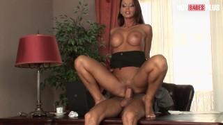 HotBabesPlus - Teen Secretary Christina Bella Wants Anal SEX with Her Boss