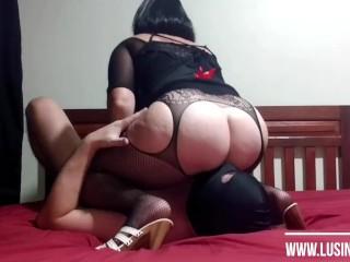 Femdom mistress lusinda hard facesitting ass licking anilingus...
