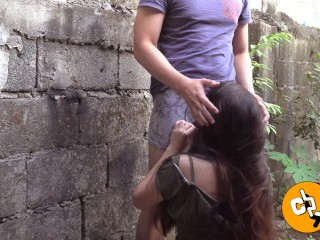 Pinay Wild Risky Outdoor Sex and Creampie